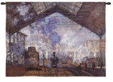 Lagare Saint-Lazare Wall Tapestry by Claude Monet
