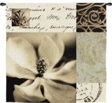 Magnolia Montage Wall Tapestry by Julie Greenwood