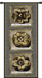Haute Gold Medallion Wall Tapestry