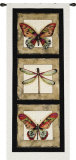 Butterfly Dragonfly I Wall Tapestry