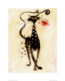 Jasper the Cat Print by Marilyn Robertson