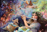 Enchanted Flute Poster by Josephine Wall