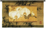 Bamboo and Orchids II Wall Tapestry by Ives Mccoll
