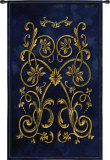 Florette Bleu Wall Tapestry