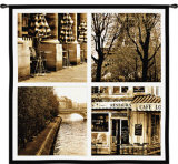 Parisian Moments Wall Tapestry by Marina Drasnin Gilboa