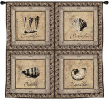 Shellworks Wall Tapestry by Paul Panossian