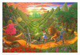 mago de Oz, El Pósters por Tom Masse