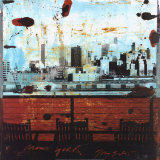 New York, View over Brooklyn Art by Tony Soulie