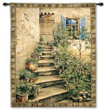 Tuscan Villa II Wall Tapestry by Roger Duvall