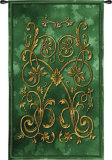 Florette Vert Wall Tapestry
