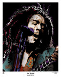 Bob Marley-Electric Prints