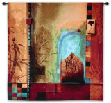 Garden Ensemble Wall Tapestry by Don Li-Leger