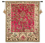 Tree of Life Ruby Wall Tapestry by William Morris