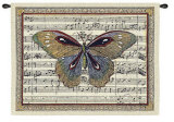 Butterfly Dance I Wall Tapestry