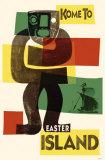 Easter Island Masterprint