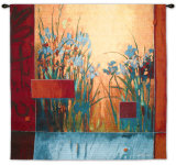 Iris Sunrise Wall Tapestry by Don Li-Leger