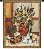 Provence Interior II Wall Tapestry by Suzanne Etienne