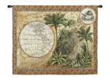 Global Safari II Wall Tapestry by Tina Chaden