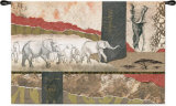 Serengeti Elephants Wall Tapestry by Joseph Poirier