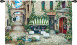 Trattoria di Lugano Wall Tapestry by Roger Duvall