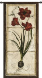 Red Tulip Study II Wall Tapestry