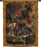 Harvest in Tuscany Wall Tapestry by Oreste Costa