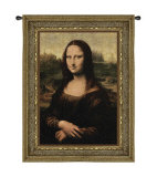 Mona Lisa Wall Tapestry by Leonardo da Vinci 