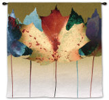 Leaf Dance Wall Tapestry by Robert Mertens