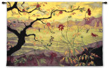 Apple Tree with Red Fruit Wall Tapestry by Paul Ranson