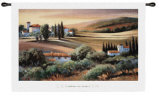 Afternoon Light in Tscyine Wall Tapestry by Carol Jessen