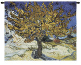 Mulberry Tree, c.1889 Wall Tapestry by Vincent van Gogh