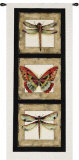 Butterfly Dragonfly II Wall Tapestry