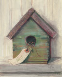 Birdhouse Prints by Carol Rowan