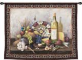 Italian Still Life Wall Tapestry by Barbara R. Felisky