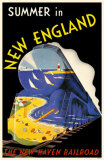 Summer In New England Masterprint