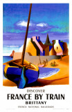 Discover France By Train- Brittany Masterprint
