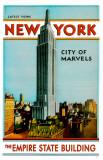 New York- The Empire State Building Masterprint