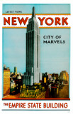 New York- The Empire State Building Masterprint