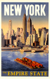 NewYork- The Empire State Masterprint