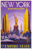 New York- The Empire State Masterprint