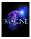 Imagine-John Lennon Fotografie-Druck von Rhonda Watson