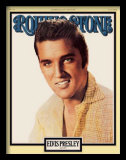 Elvis Presley: The King is Dead, Rolling Stone, 1977 Posters