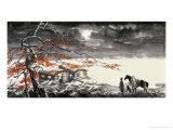 Cloudy Night by Xuen River Giclee Print by Wang Kae