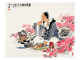 Spring Tea as Wine Giclee Print by Wang Kae