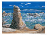 Pillar Rock Giclee Print by Chen Kwodong