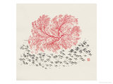 Red Tree Giclee Print by Feng Yan