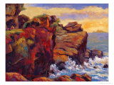 Sunrise by Rocky Coast Gicl&#233;e-Druck von Chao Tsungkwan
