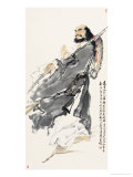 Founder of Zen Darmo Giclee Print by Wang Kae
