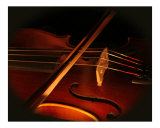 Violin by Candlelight Photographic Print by Sara Taksali