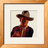 Cowboys and Indians: John Wayne 201/250, 1986 Prints by Andy Warhol